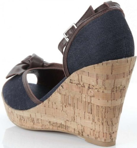 ILSE JACOBSEN Pumps Schuhe Sandalette Sabbia83 Jeans Farbe NEU, Schuhe Damen:37