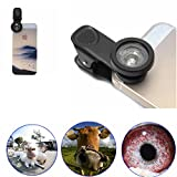 LQ-001 Universal 0.67X Zoom Optical Lens Telescope Magnifier For Camera Tablets Smartphone