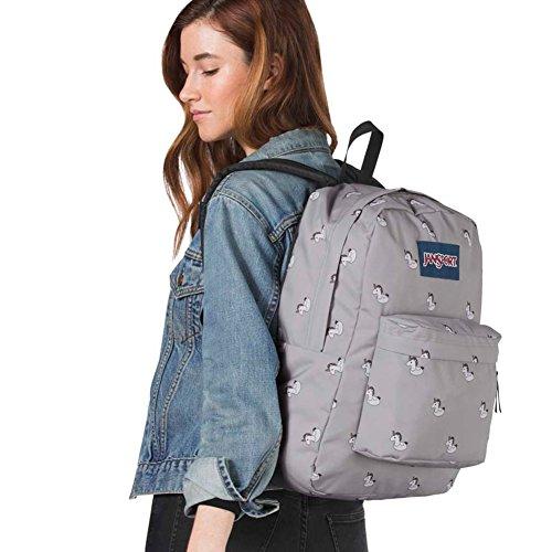 JanSport Unisex Superbreak Back Pack, Unicorn, One Size by JanSport (Image #3)