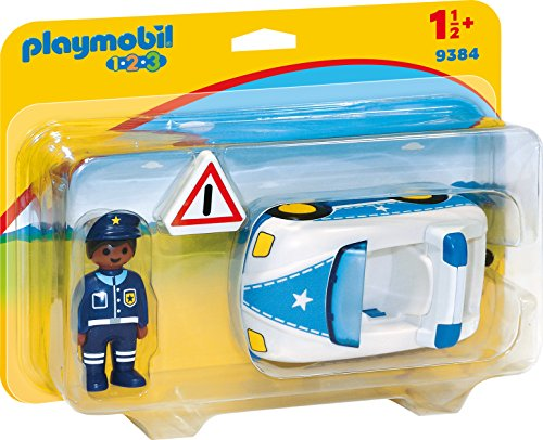 PLAYMOBIL® Police Car 9384 - Playset 1.2.3 Baby Items