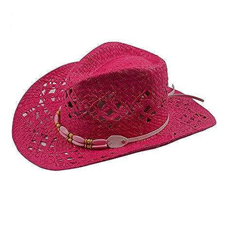 ALWLj Donna cappelli da cowboy Big Red adulto di cappelli di paglia moda  estate cappelli da a079333d0e61