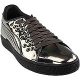 Cheap PUMA Women's Basket XL Lace Metal Wn Sneaker, Black Black, 5.5 M US