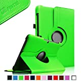 Fintie (Green) 360 Degrees Rotating Stand Case Cover for Samsung Galaxy Tab 2 10.1 inch Tablet — Multiple Color Options, Best Gadgets