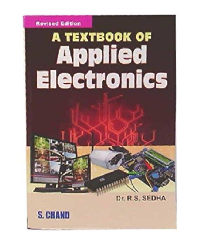 buy a textbook of applied electronics book online at low prices in