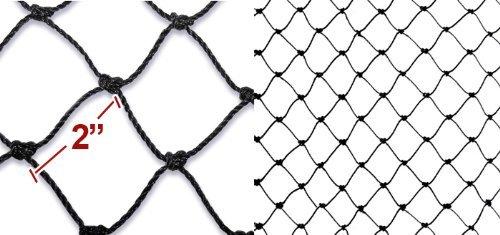 50' X 100' Net Netting for Bird Poultry Aviary Game Pens