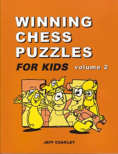 Winning Chess Puzzles For Kids Volume - Kids Puzzle Chess