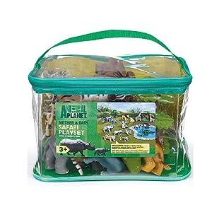 Toys R Us Animal Planet Mother Amp Baby Safari Playset