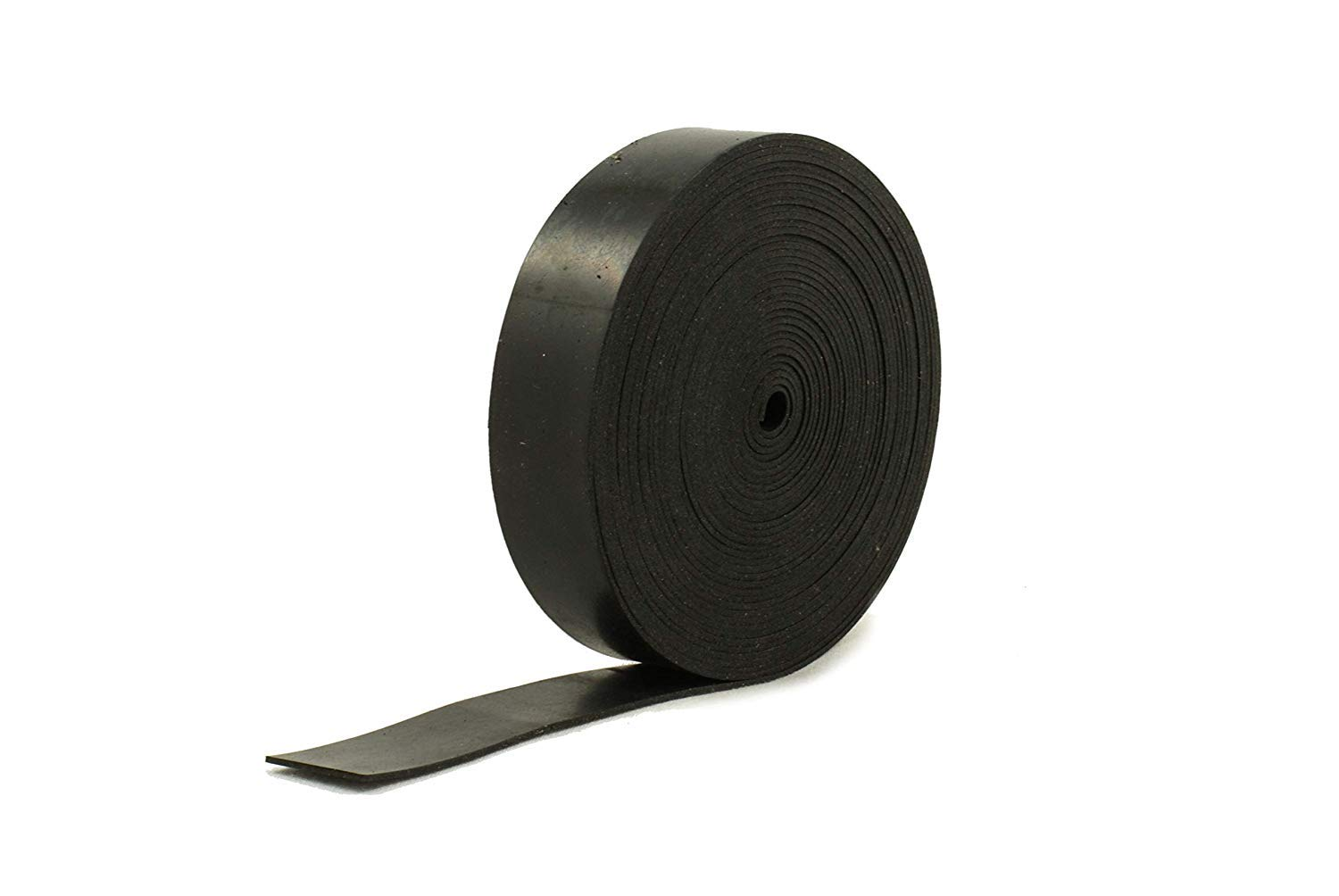 Solid Neoprene Black Rubber Strip 3//4 Wide x 5//64 Thick x 16 feet Long