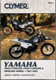 1981-2002 CLYMER YAMAHA PW50 PW80 Y-ZINGER, BW80 BIG WHEEL SERVICE MANUAL M492-2