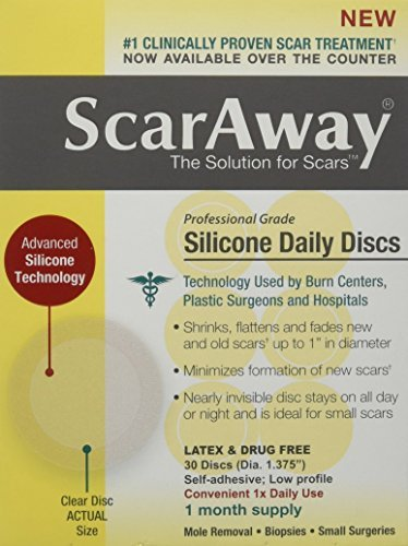 Perrigo ScarAway Silicone Daily Discs Bandages, 30 Count ...