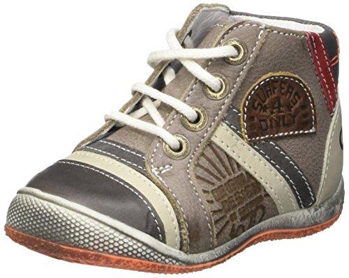 Catimini Cigogne - Zapatos de primeros pasos Bebé-Niñas Beige - Beige (13 Vte Grège/Marron Dpf/Milk)