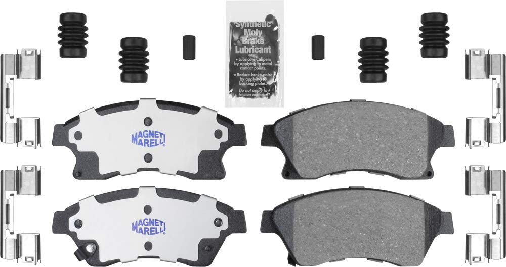 Magneti Marelli by Mopar 1AM301522A Ceramic Front Disc Brake Pad Kit 4 Pack