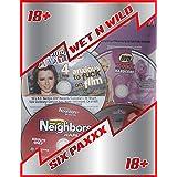 ADULT DVD PACKS - WET N WILD - LOT OF 6 (MAGAZINE BONUS DVDs) EACH LOT PULLED AT RANDOM