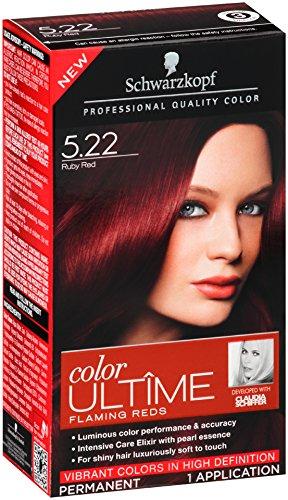 Amazon.com : Schwarzkopf Color Ultime Hair Color Cream, 5.22 Ruby ...