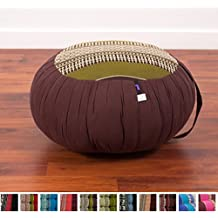 Meditation Cushion Zafu, 16x8 inches, Kapok Fabric