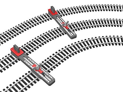 (Bachmann Trains HO Scale Adjustable Parallel Track Tool (2/pk) - HO Scale )
