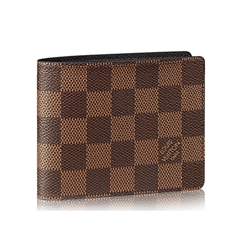 Louis Vuitton Damier Slender Wallet Article: N61208 Made in