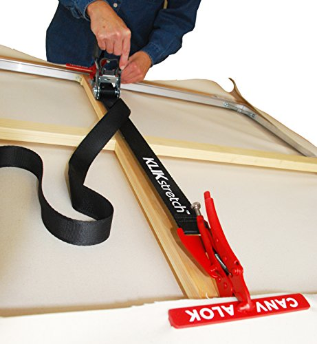 CANVALOK KLIKstretch Dual-Plier Canvas Stretching System - The Easiest Way to a Perfect Canvas