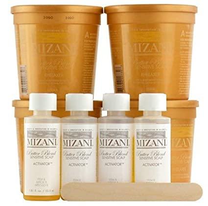 Mizani Butter Blend Sensitive Scalp Relaxer Kit 4 Application BeautyLand