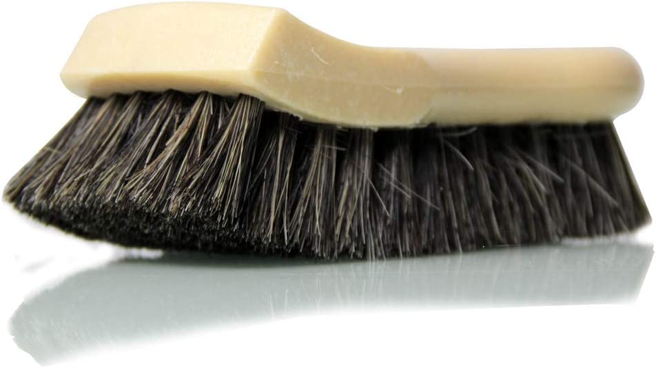 Chemical Guys Acc_S95 Long Bristle Horse Hair Leather Cleaning Brush