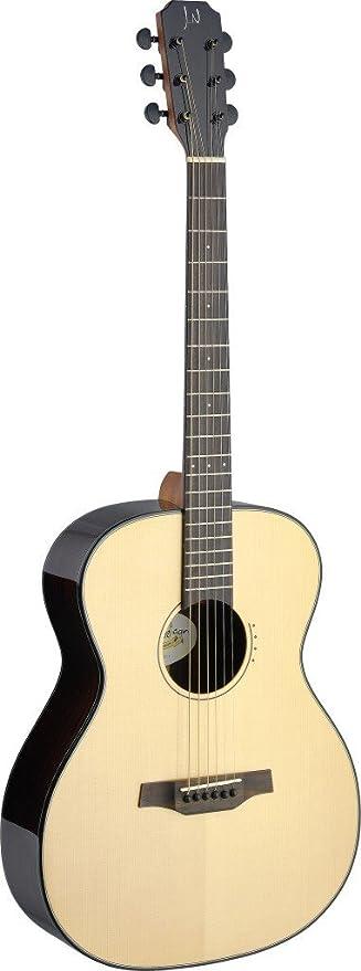 James Neligan LYN-Una Guitarra Acústica Auditoría mit Abeto Sólido ...