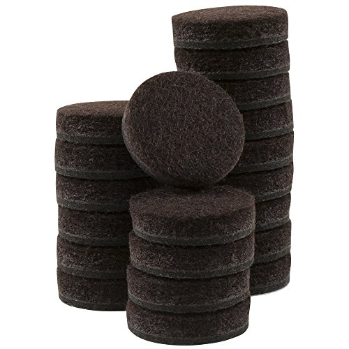 Self Stick Furniture Round Felt Pads For Hard Surfaces Protect Your Hard Floors From Furniture