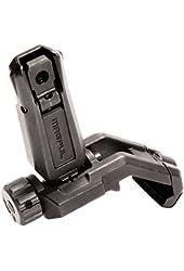 Magpul Industries MBUS Pro Offset Rear Sight Fits Picatinny, Black