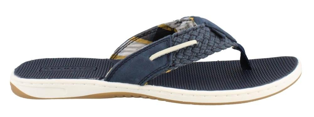 Sperry Women's, Parrotfish Nautical Style Thong Sandal Navy 8 M
