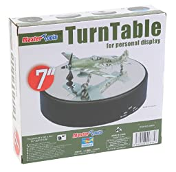 Trumpeter Battery Operated Round Mirrored Display Turntable for Model Kits