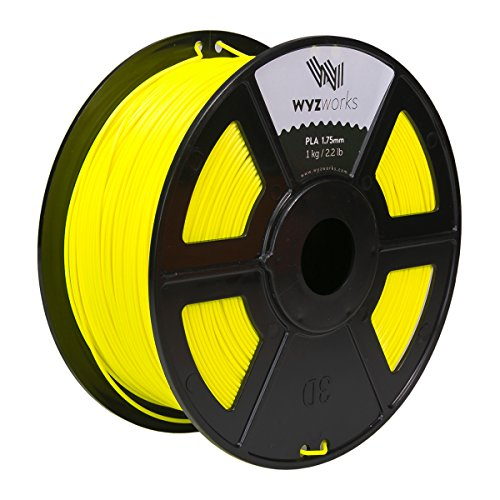 WYZworks FLUORESCENT Thermoplastic Polylactic Filament