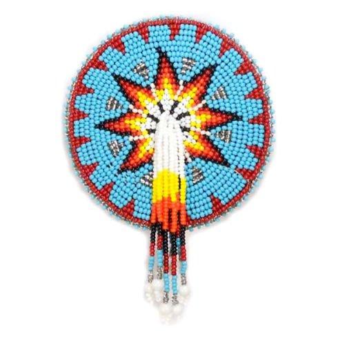 La vivia Beaded Barrette Hair Clip Turquoise Blue Wholesale Lot at Lowest Price 50 Pc by La vivia (Image #1)