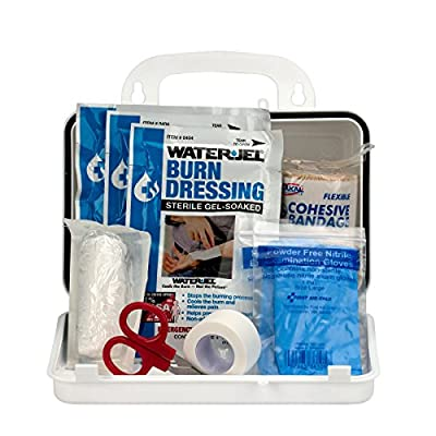 Pac-Kit by First Aid Only Burn Kit with 10 Unit Plastic Case by First Aid Only