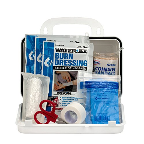 Pac-Kit by First Aid Only Burn Kit with 10 Unit Plastic Case (First Aid Treatment)
