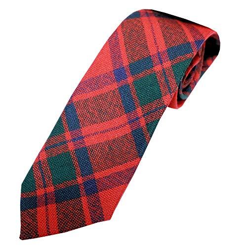 Ingles Buchan Boys Scottish Wool Tartan Tie - Tie Mackintosh