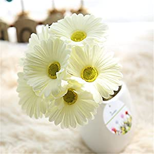 JJH 1 Branch Polyester Others Tabletop Flower Artificial Flowers 10