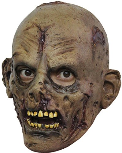 Undead Zombie Childrens Scary Latex Head Mask Halloween Horror Fancy Dress -
