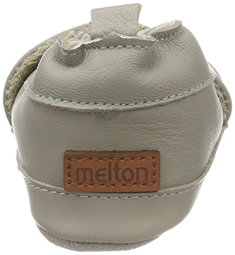 Melton Unisex Baby Krabbelschuh-I Love Mum Grau (Chateau Gray)