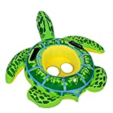 Inflatable Swimming Pool Float Ring Float Toys For Baby Kids Frog Turtle Swimming Ring Circle Beach Sea Mattress Water (type1)