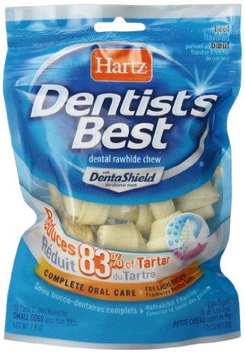 Hartz Dentist's Best 2-Inch Bone – 10-Pack