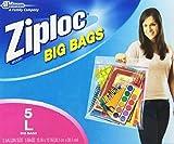 ziploc big bags - Ziploc Big Bag Double Zipper, Large, 5-Count by Ziploc
