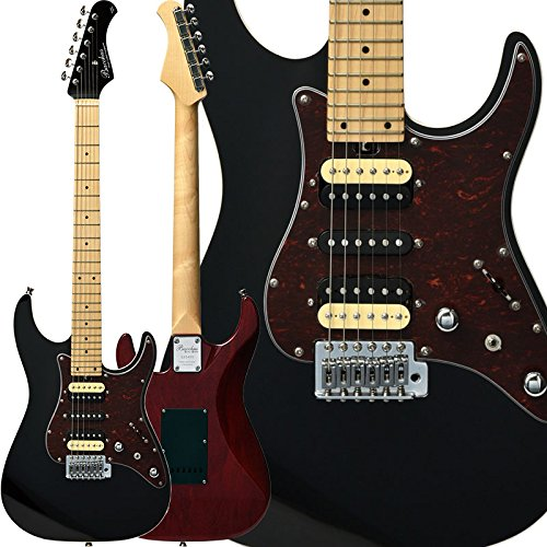 Bacchus バッカス エレキギター GLOBAL Series IKEBE ORIGINAL HGD-STANDARD24/MG (BLACK TOP/SEE-THROUGH RED BACK) B074KFZC4S  BLACK TOP/SEE-THROUGH RED BACK