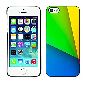 MOBMART Carcasa Funda Case Cover Armor Shell PARA Apple iPhone 5 / 5S - Vibrant Of Dominant Colors