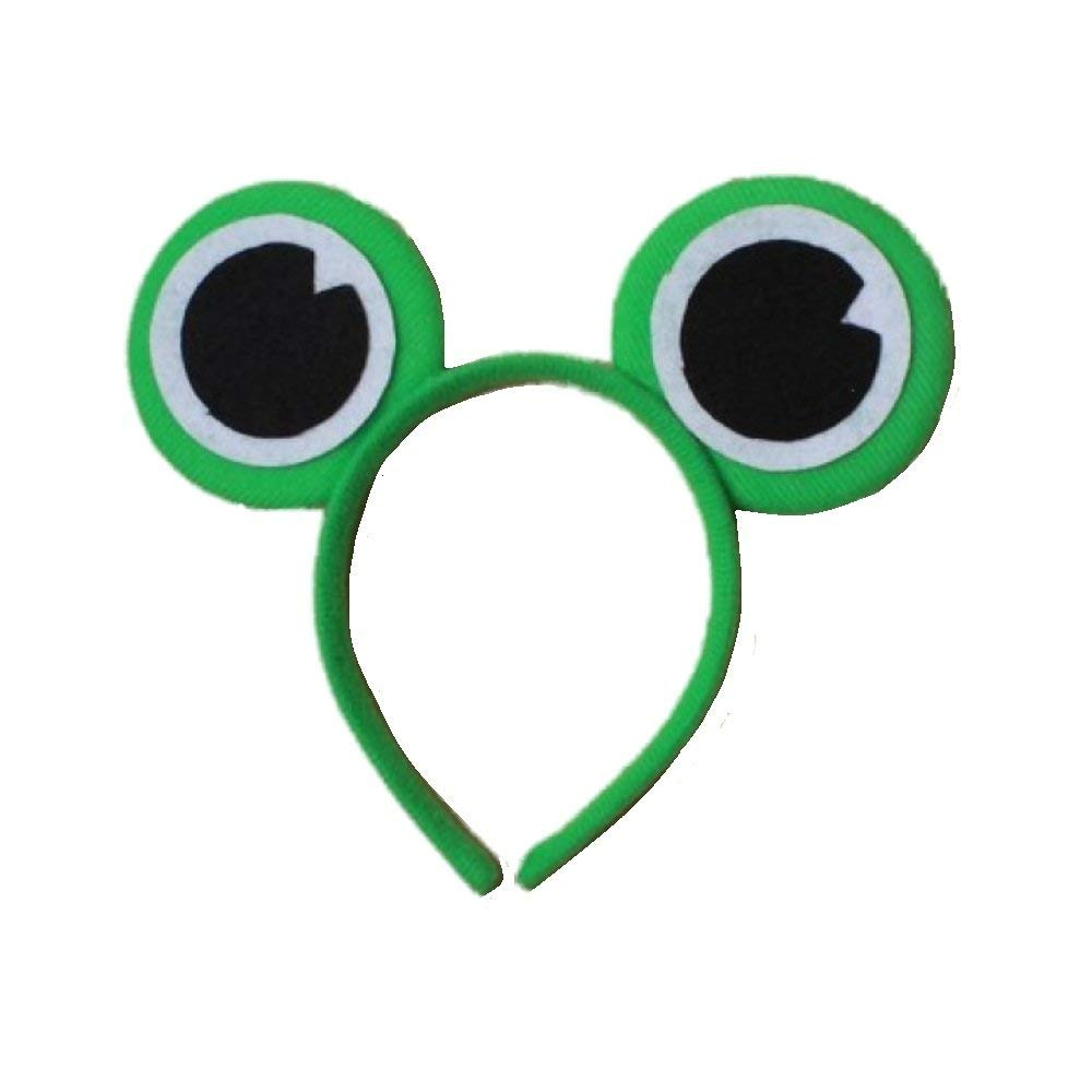 Green Frog Eye Headband Hair Band Headwear For Fancy Dress Costume Cosplay