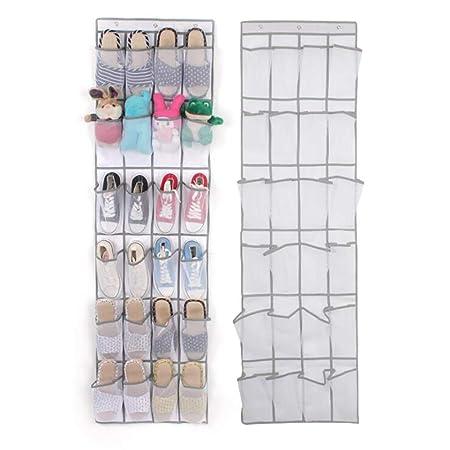 Scarpe in Tessuto Non Tessuto Porta Scarpe Organizer da Letto dormitorio Shoe Rack