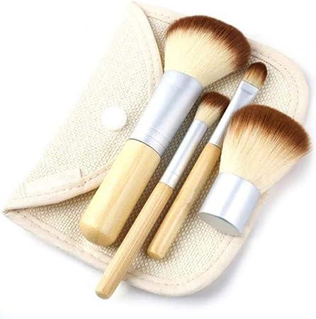 YAL - Juego de brochas de maquillaje para mujer con caja de maquillaje y polvos para base de maquillaje: Amazon.es: Hogar