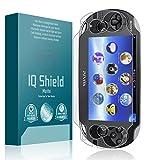 Sony Playstation PS Vita Screen Protector, IQ Shield Matte Full Coverage Anti-Glare Screen Protector for Sony Playstation PS Vita Bubble-Free Film - with