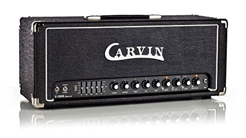 Carvin Audio X100B 100W Tube 2 Channel Guitar Amplifier Head with Graphic EQ, Boost and Reverb