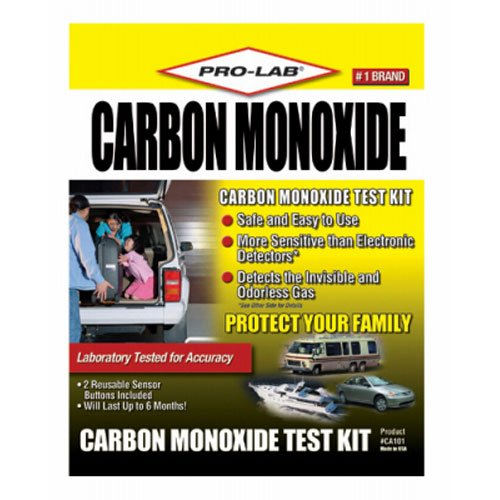Pro-Lab CA101 Carbon Monoxide Test - Co2 Detector For Airplane