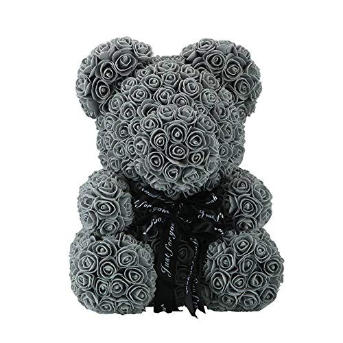 GXSQLW Forever Rose Teddy Bear, Artificial Rose, 9.8