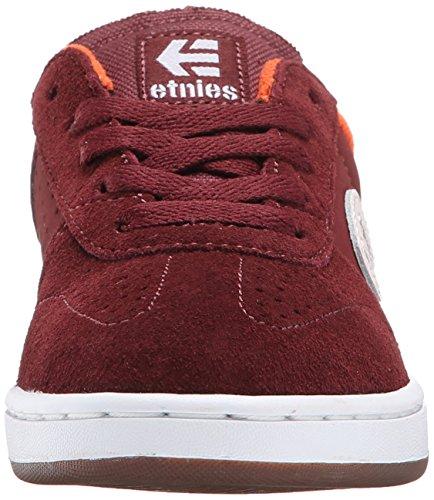 EtniesKIDS LO-CUT - Zapatillas de Skateboard Niños-Niñas rojo granate